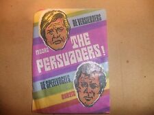 THE PERSUADERS MONTY GUM WRAPPER TONY CURTIS ROGER MOORE ITC BUBBLEGUM 70s