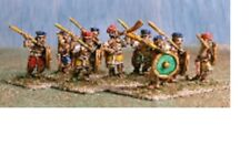 50 New Old Glory 15mm UNPAINTED #SE5 Sea People Peleset Javelinmen (Philistines)