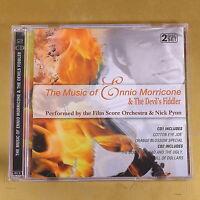 THE MUSIC OF ENNIO MORRICONE & THE DEVIL'S FIDDLER - 2CD - OTTIMO CD [AR-212]