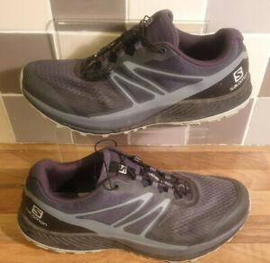 Mens Salomon Sense Escape 2 Trail Running Shoes Charcoal Grey UK 9 US 9.5 EU43.5