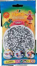 1 000 Beads Standard Midi ( Ø5 MM) Grey Light - Hama