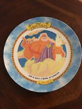 McDonald's Disney Plastic Plate Hercules Zeus 1997