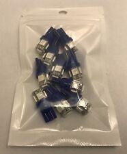 10pcs 360° T10 168 194 2825 Wedge LED Bulb - Blue - FREE SHIPPING
