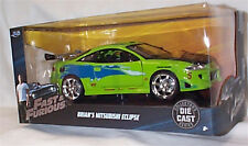 FAST & FURIOUS Brians Mitsubishi Eclipse 1/24 SCALE DIECAST OPENING FEATURES New
