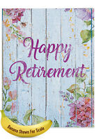 J6108JRTG-US Jumbo Retirement Greeting Card: Blooming Driftwood w/ env.