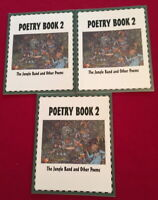 Poetry Book 2 3 Paperback Copies Waterford Institute Level 25D Classroom Lot