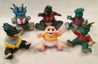 Vintage Jim Henson Dinosaurs Toy Rubber Figures Earl Francis Robbie Baby 1990s