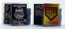 KISS 2009 Press Pass Ikons Collector Cards Series Complete Set & 4 Box Toppers