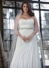 Beach Wedding Dress Ivory Bridal Gown Size 14