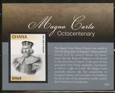 GHANA  2016 800th ANNIVERSARY OF THE MAGNA CARTA SOUVENIR SHEET MINT NH
