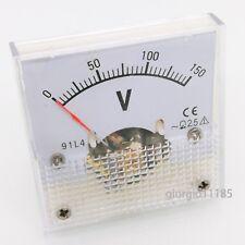 Us Stock Ac 0150v Square Analog Volt Pointer Needle Panel Meter Voltmeter 91l4
