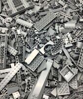 1000+ LEGO PIECES RANDOMLY PICKED SORTED BRICKS PARTS MOC BULK DARK BLUISH GREY