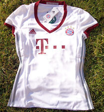 Le Bayern de Munich UCL Maillot Jersey Taille XS Neuf Adidas Femmes/Women FCB BLANC