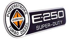 E-250 INTERNATIONAL POWERSTROKE ECONOLINE E250 EMBLEM