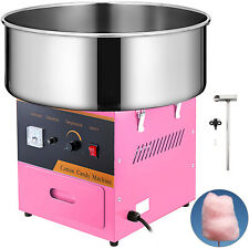Electric Candy Cotton Machine Professional Pink Floss Candyfloss Maker 1030w
