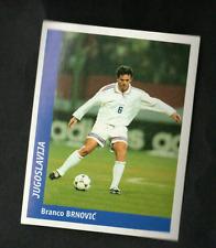 PANINI WC WM FRANCE 98 1998 N 401 JUGOSLAVIA NADJ WITH BLACK BACK MINT!!