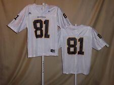 Missouri Tigers FOOTBALL JERSEY #81 Adidas XL NWT  white