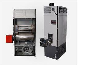 Werkstattheizung,  Altölheizung, Wärmetauscher, Heizungsgehäuse, 40-230KW