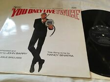 "John Barry ""You Only Live Twice"" vinyl LP soundtrack ULP1171 UK Mono EXCELLENT"