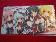Anime Mouse Pad Playmat Nexton Girls Collection Vol.004 Wagamama High Spec B