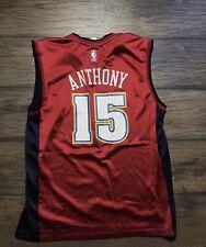 RARE Men's CARMELO ANTHONY Denver NUGGETS REEBOK Red Alternate Large Jersey NBA