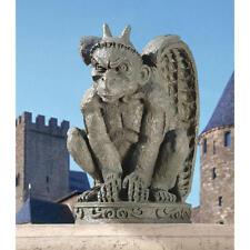 Medieval Menacing Gargoyle Sculpture Gothic Guardian Protector Statue