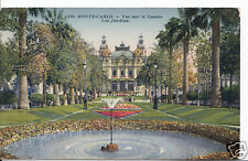 Monaco Postcard - Monte-Carlo - Vue Sur Le Casino - Les Jardins  A6343