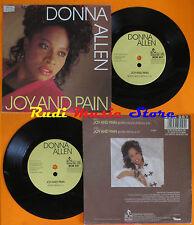 LP 45 7'' DONNA ALLEN Joy and pain germany BCM 257  (*)cd mc dvd