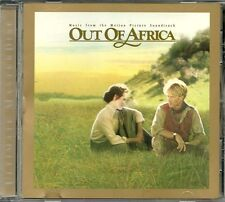 OST Barry, John Out Of Africa   MCA 24 Karat Gold CD Rar