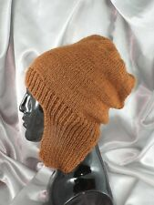 KNITTING INSTRUCTIONS-NOT THE HAT-SIMPLE TRAPPER SLOUCH HAT KNITTING PATTERN