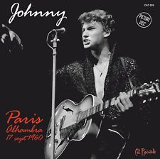 Johnny Hallyday 45t Picture Disc - Paris Alhambra Septembre 1960 - 4 titres