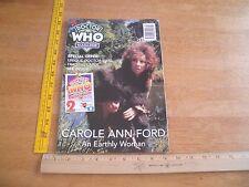Doctor Who Magazine 1995 Carole Ann Ford NO LABEL #221
