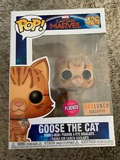 Funko Pop! Marvel Captain Marvel Goose The Cat Flocked #426 Box Lunch