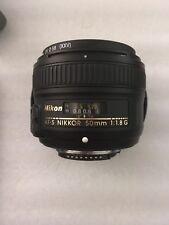 Nikon Nikkor AF-S 50mm F/1.8 G Lente