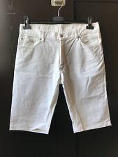 Helmut Lang Men White Shorts