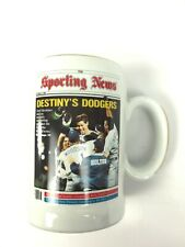 SPORTING NEWS DESTINYS DODGERS WORLD SERIES LIMITED EDITION MLB STEIN NUMBERED