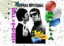 Personalised - OASIS NOEL LIAM GALLAGHER - Birthday Greeting Card Any Occasion