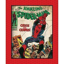 Marvel The Amazing Spider Man Panel Licensed Fabric Camelot Fabrics