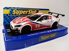 Slot SCX Scalextric Superslot S3572 Maserati Trofeo World Series 2013 Nº4