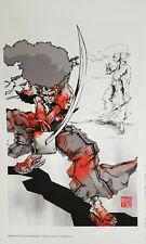 Takashi Okazaki, Afro Samurai Limited Edition Print 55/250