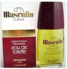 MASCULIN 2 FOR MEN BY BOURJOIS 112 ml  EDT (100% Original ) Made In France