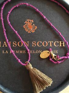 * Tolle Kette von Maison Scotch * Paspel *
