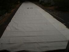 43Cole Nantucket mainsail 3reef 15.8 x 4.9m 5 full battens required good+