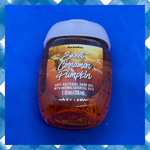 Bath & Body Works-Cinnamon Pumpkin-PocketBac Anti Bacterial Hand Sanitizers