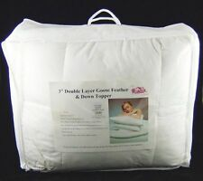 Down Feather Mix Mattress Toppers