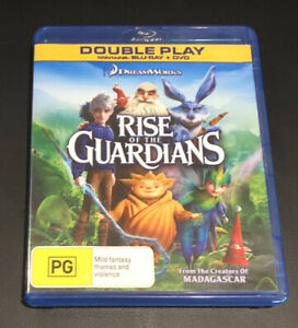 Rise Of The Guardians (Blu-ray, 2013, 2-Disc Set) Very Good Condition Region B