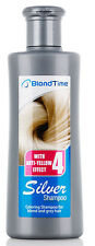 BLOND TIME SILVER SHAMPOO 150ml with anti-yellow effect for blond and grey hair
