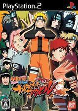 Used PS2 Naruto Shippuden: Narutimate Accel  Japan Import (Free Shipping)