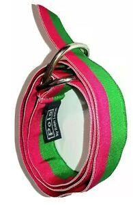 Polo by Ralph Lauren Girls 💚💗💚 Green & Pink Belt Small Kids Child Adorable