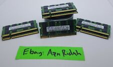 Lot of 7 Samsung 1GB 2Rx8 PC2-5300S-555-12-E3 DDR2 667Mhz CL5 200pin SODIMM RAM